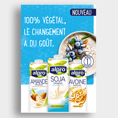 Agroalimentaire Alpro Campagne Emailing
