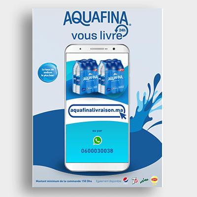 Agroalimentaire Aquafina Campagne Emailing