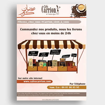 Agroalimentaire Café Carrion Campagne Emailing