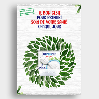 Agroalimentaire Danone Campagne Emailing