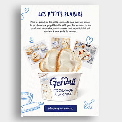 Agroalimentaire Gervais Campagne Emailing