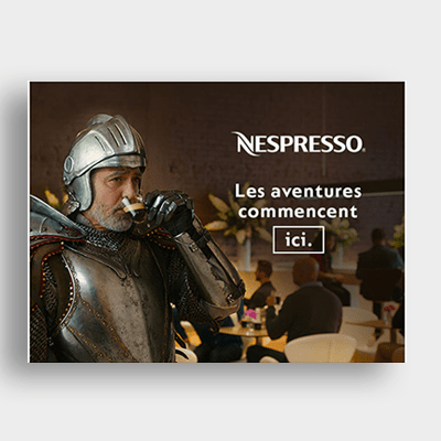 Agroalimentaire Nespresso Campagne Emailing