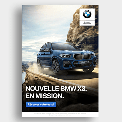 Automobile BMW Campagne Emailing
