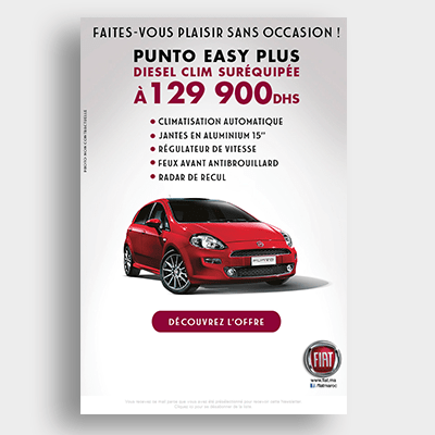 Automobile Fiat Campagne Emailing