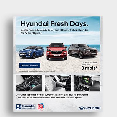 Automobile Hyundai Campagne Emailing