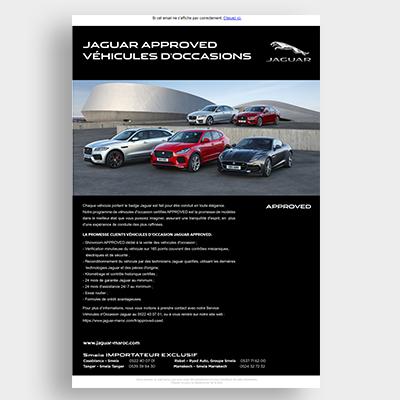 Automobile Jaguar Campagne Emailing