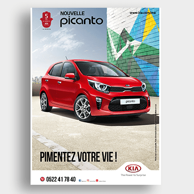 Automobile Picanto Campagne Emailing