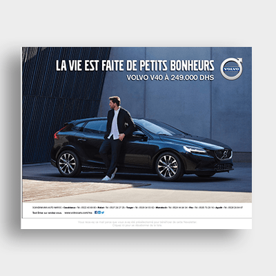 Automobile Volvo Campagne Emailing