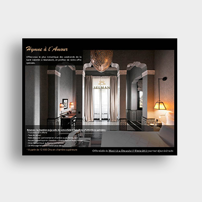 Hotel Selman Campagne Emailing