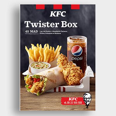 Livraison KFC Campagne Emailing