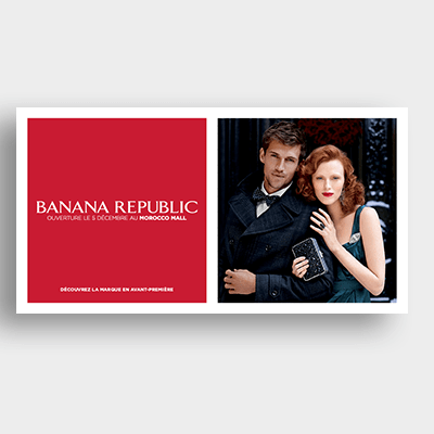 Prêt à porter Banana Republic Campagne Emailing