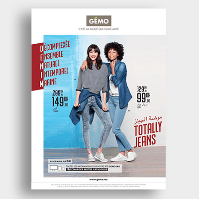 Prêt à porter Gemo Campagne Emailing