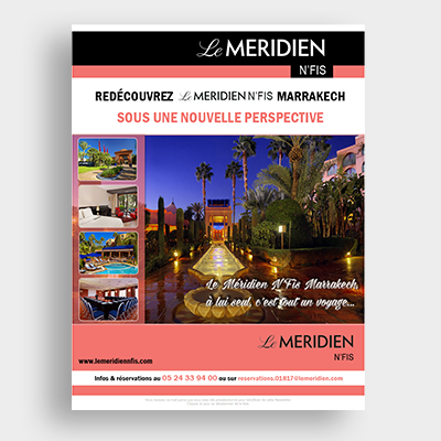Le Meridien Hotel campagne, Emailing Marketing, Casablanca, Emailing Maroc